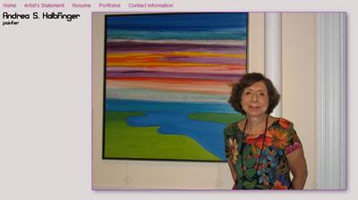 Andrea S. Halbfinger, Painter