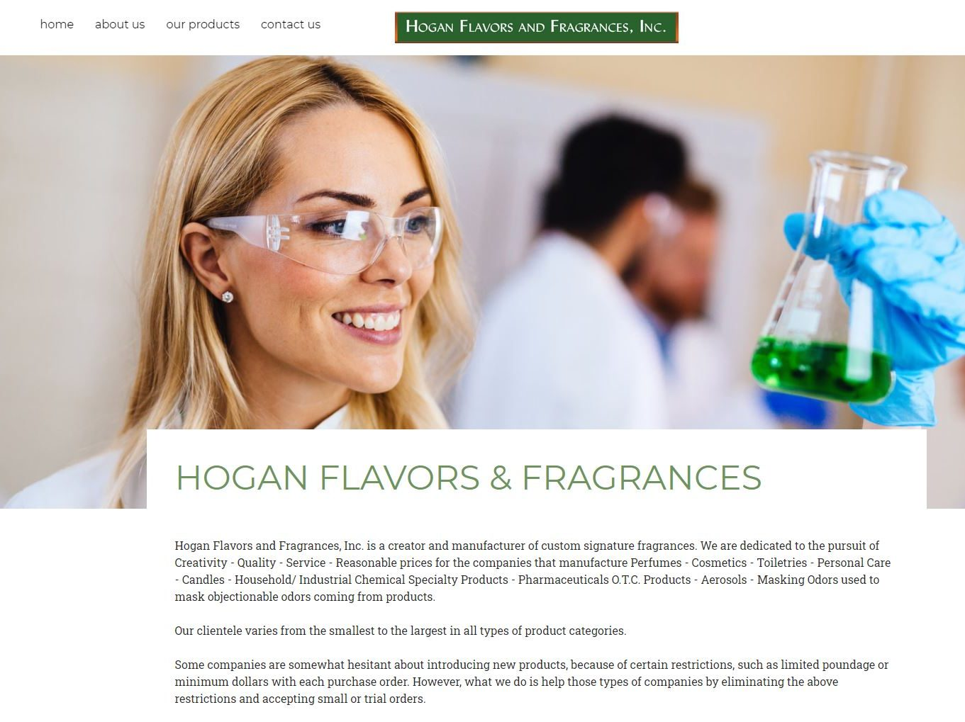 Hogan Flavors & Fragrances